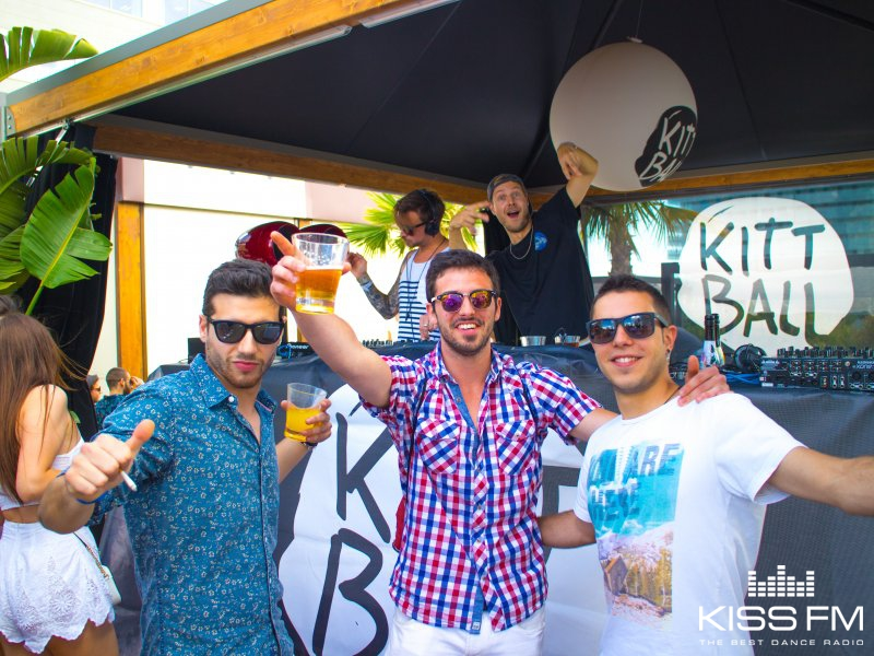 Kittball Records, Rooftop & Pool Party by THP @ Purobeach, Барселона, Испания