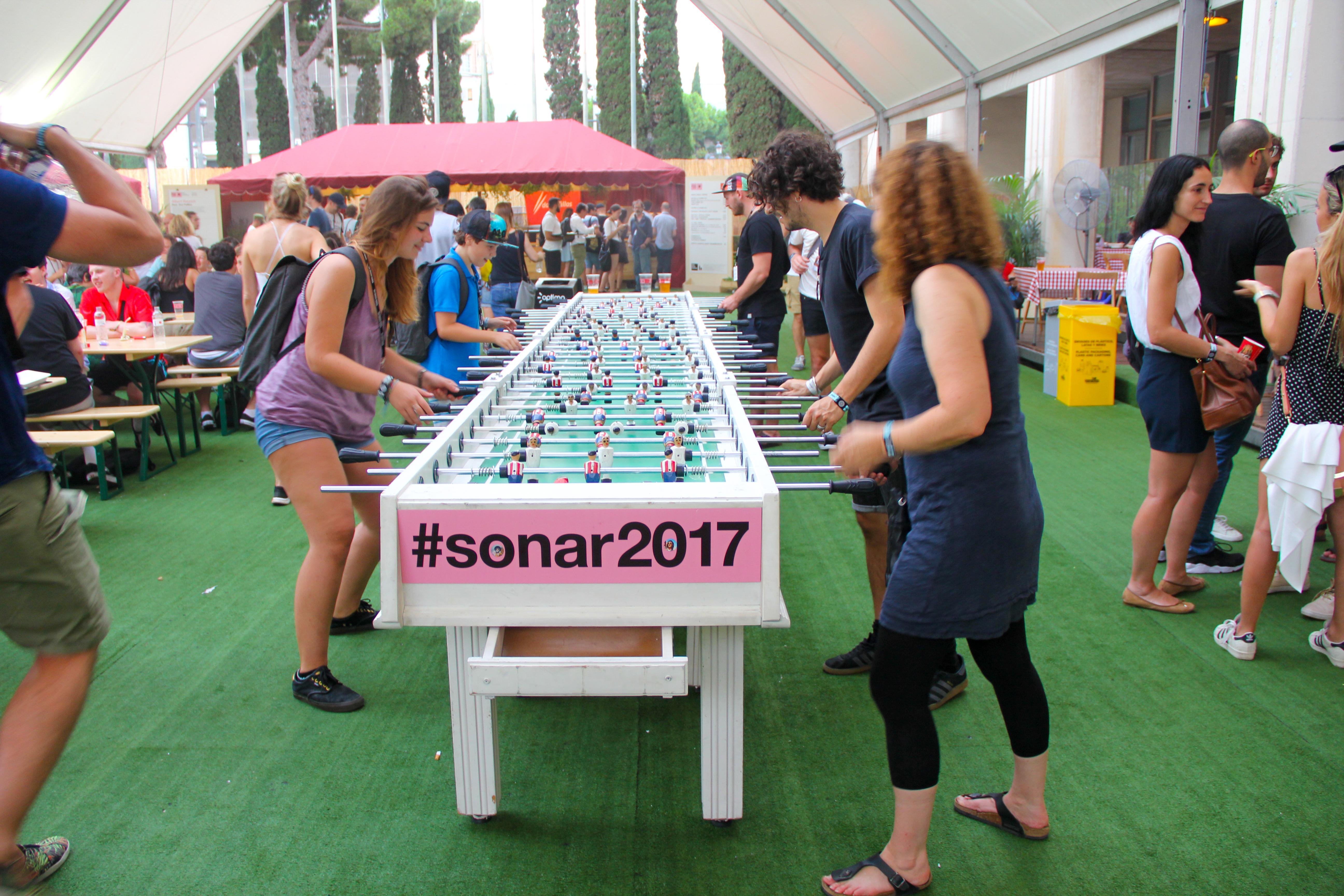 Mr.Sunny @ Sonar Festival, Barcelona 2017