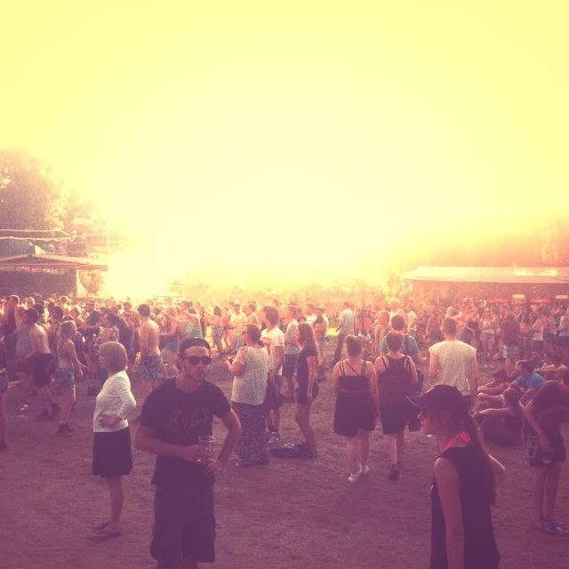 Sziget. Wensday. Day 1.
