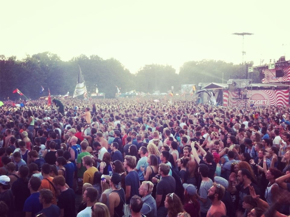 Sziget. Day 5. The Last day. Empire of the sun. David Guetta.