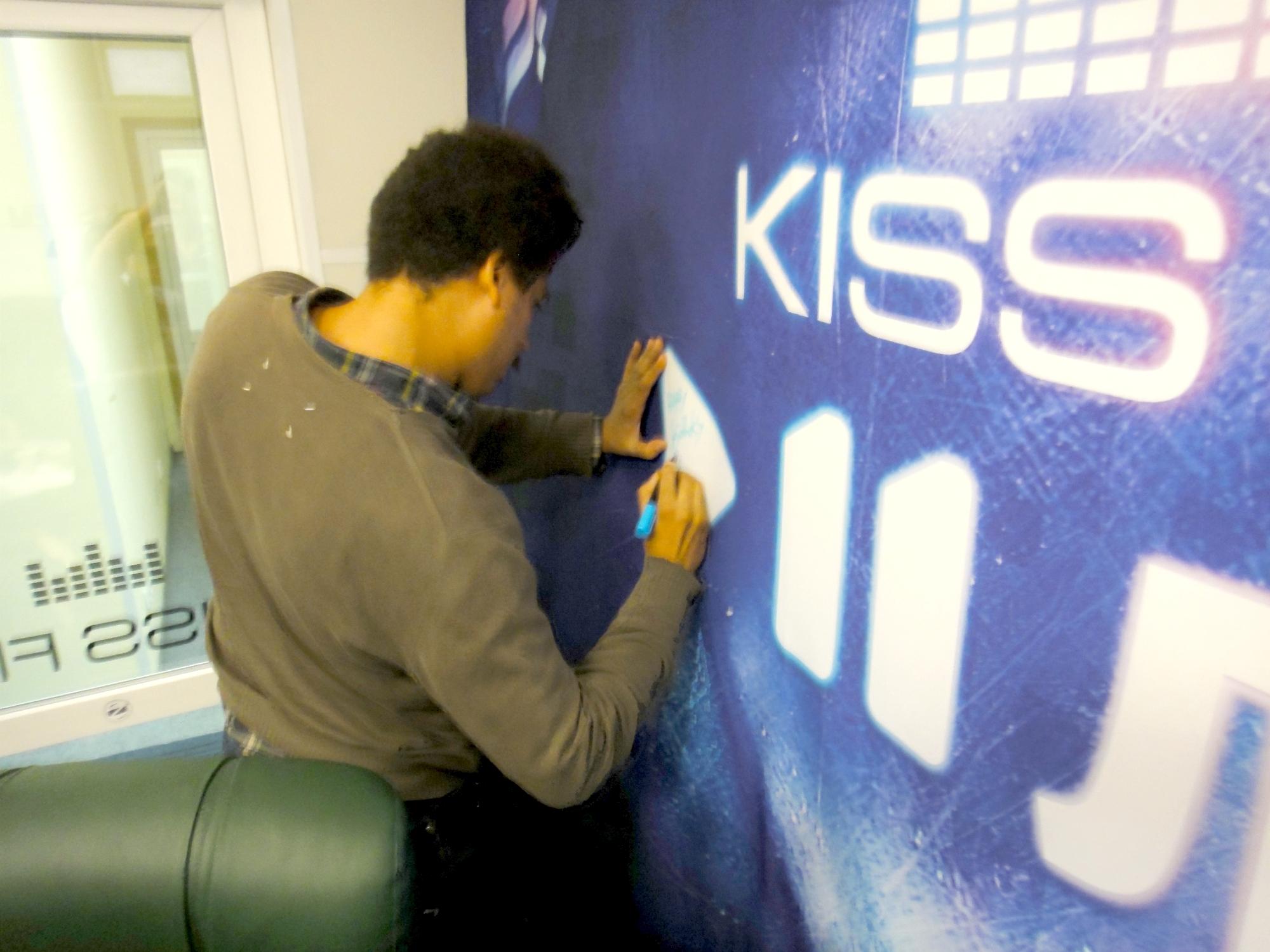 Seth Troxler@KissFM Ukraine