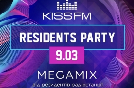 KISS.CLUB.MIX. RESIDENTS PARTY