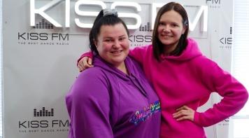 Інтерв'ю з alyona alyona на KISS FM