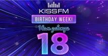KISS FM UKRAINE – 18 років!