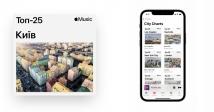 В Apple Music запустилися чарти міст: що слухають у Києві?