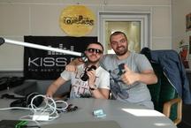 DJ Lutique и МС Рыбик в эфире KISS FM!