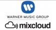 Mixcloud підписав угоду з Warner Music