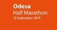 Увага! 15 вересня в Одесі буде обмежений рух автотранспорту у зв'язку з проведенням 4th Tavria V Odesa Half Marathon