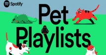 Spotify запускає плейлисти для домашніх улюбленців