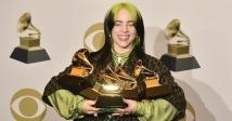 Billie Eilish перемогла у всіх основних номінаціях «Греммі-2020»