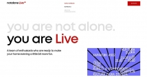 Українська стрімінгова платформа: NOT ALONE LIVE
