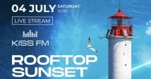 KISS FM і Rooftop Sunset представляє серію онлайн-трансляцій